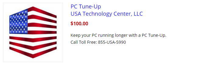 USA Technology Center PC Tune-Up